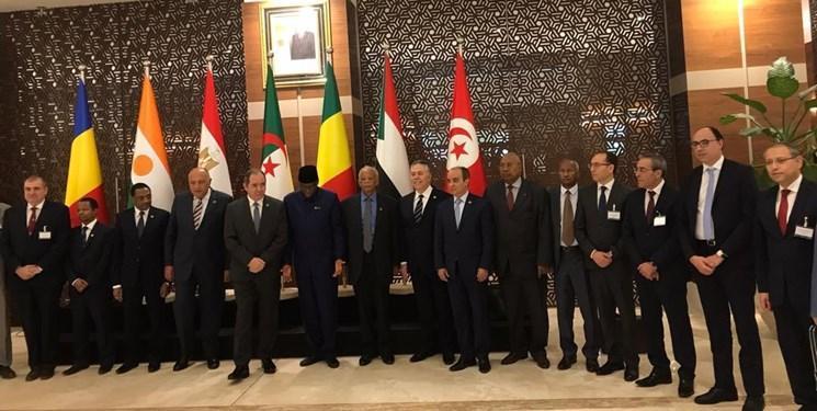 آغاز نشست وزرای خارجه کشورهای همسایه لیبی در الجزائر