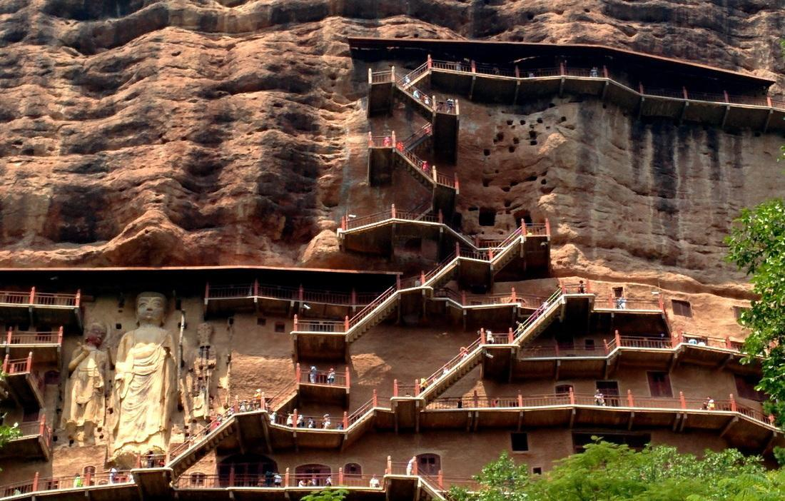 تپه باستانی مایجیشان در کشور چین