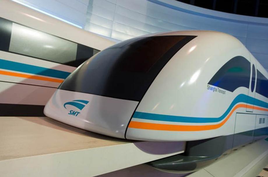ساخت سریعترین قطار جهان در کشور چین