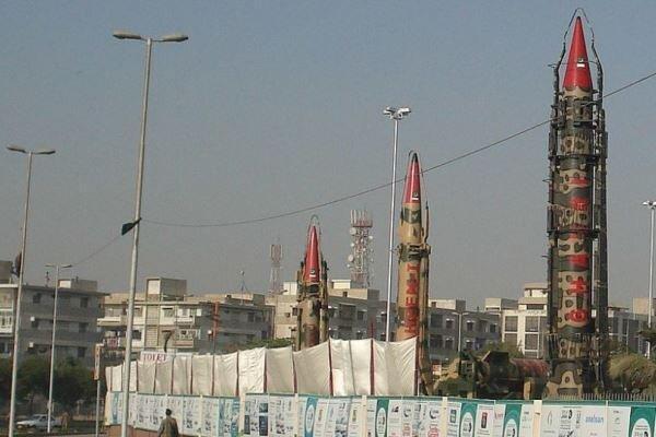 پاکستان موشک هسته ای سطح به سطح آزمایش کرد