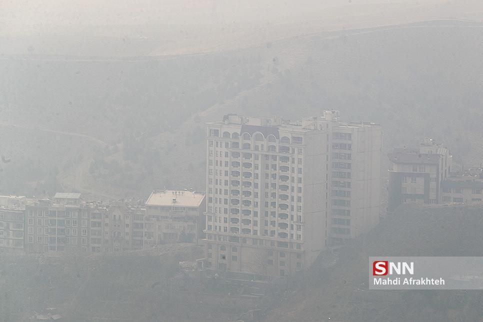 هوای تهران در 7 بهمن ماه؛ ناسالم برای گروه های حساس