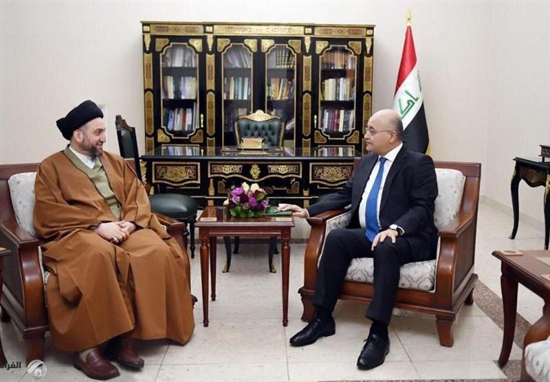 عراق، جزئیات دیدار صالح با رهبران جریان های سیاسی