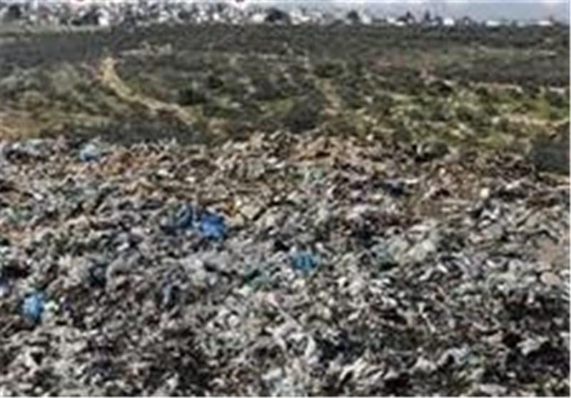 زباله های خلخال در کنار مناطق مسکونی و بیمارستان دفن می گردد
