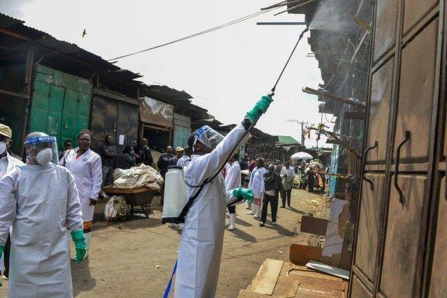 خبرنگاران تست کرونا بیش از یک هزار نفر در آفریقا مثبت اعلام شد