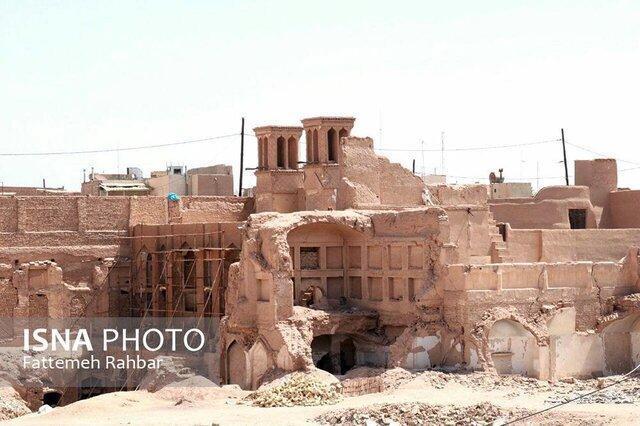 مرمت بخش هایی از بزرگترین تخریب بافت تاریخی یزد