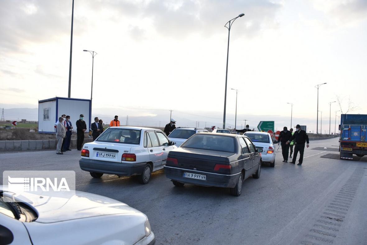 خبرنگاران تردد بین شهری در استان اردبیل 70 درصد کاهش یافت
