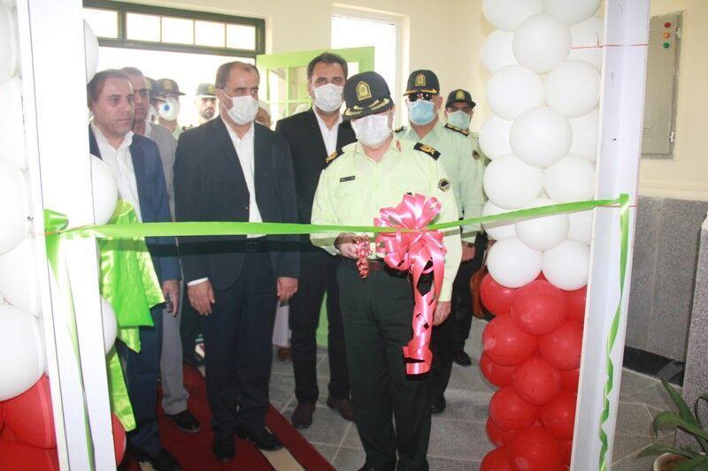 خبرنگاران ساختمان کلانتری 11 فرهنگ شهر برازجان افتتاح شد