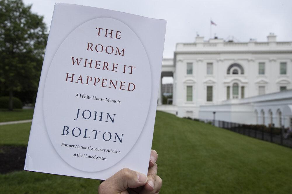 بولتون: ترامپ سست عنصر و تحت تأثیر دیگران بود