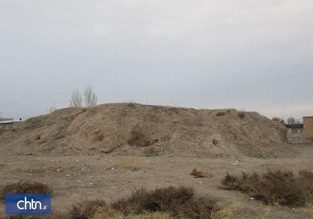 قلعه تپه تاریخی ابهر سامان دهی می شود