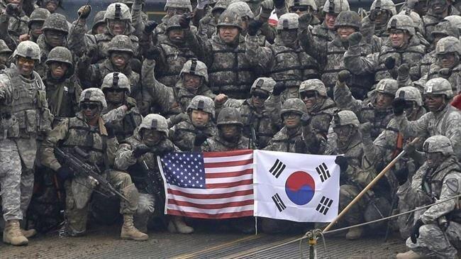 کرونا نظامیان آمریکا در کره جنوبی را زمین گیر کرد