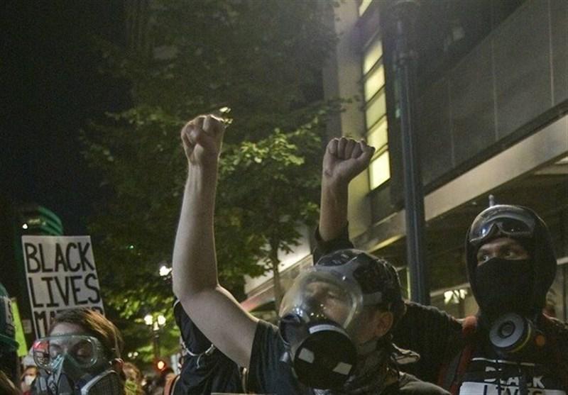 ادامه ناآرامی و آشوب در شهر پورتلند آمریکا
