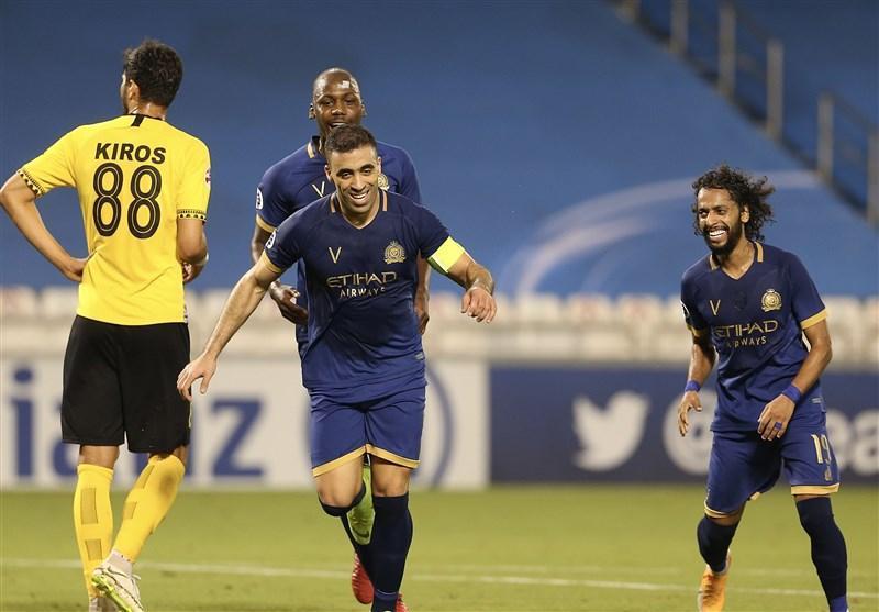 لیگ قهرمانان آسیا، شکست یک نیمه ای سپاهان مقابل النصر عربستان