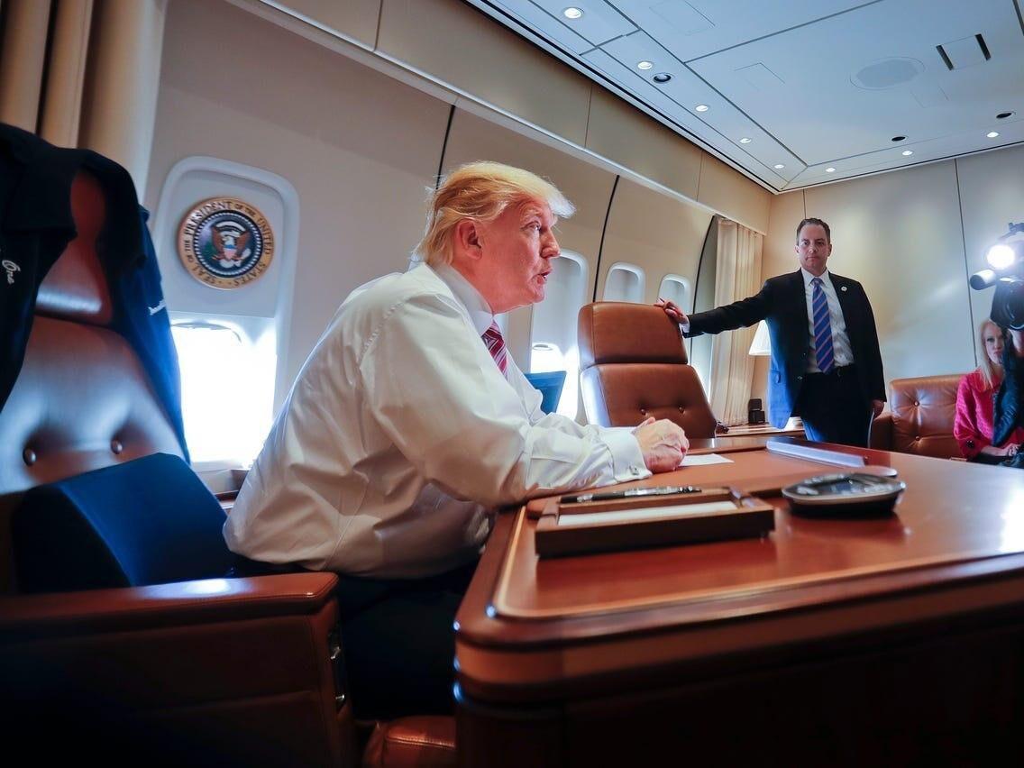 خبرنگاران خطر از بیخ گوش ترامپ گذشت