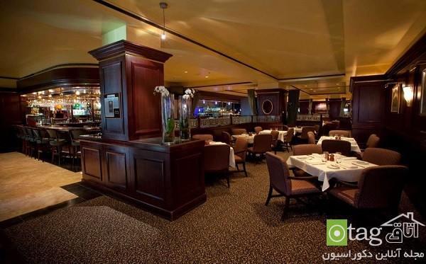 دکوراسیون رستوران های لوکس با طراحی بسیار خلاقانه و جدید