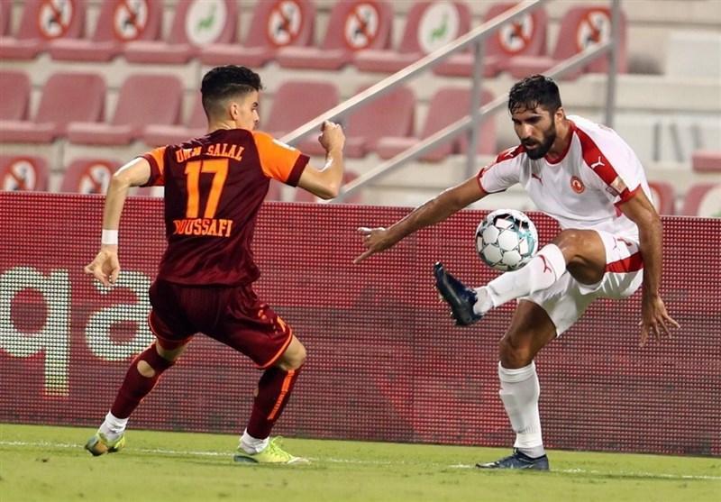 جام حذفی قطر، فزونی العربی با گلزنی مهرداد محمدی