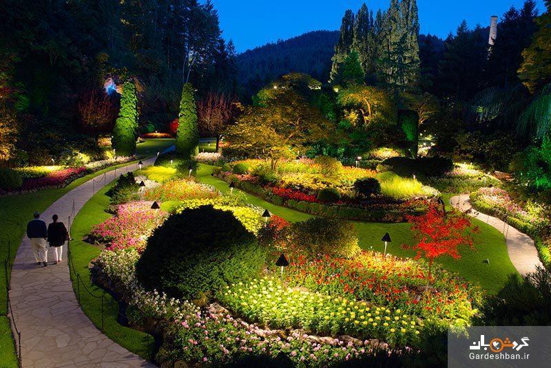 باغ های بوچارت؛ بهشت بر روی زمین در ونکوور