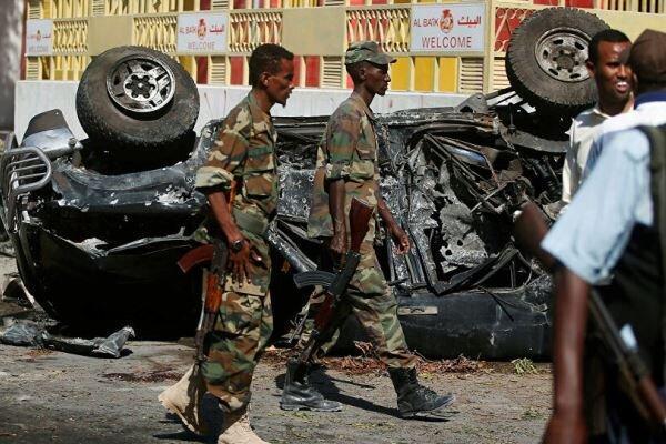 وقوع انفجار و تیراندازی در موگادیشو