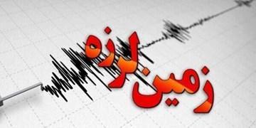 زلزله 5.5 ریشتری در آب های خلیج فارس در غرب قشم