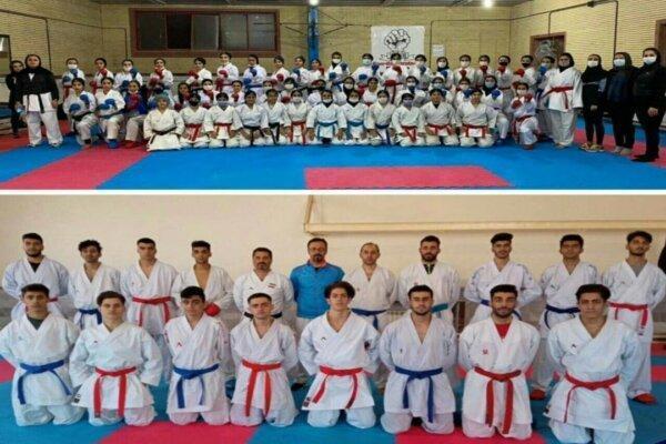 کاراته کاهای کردستانی حریفان خود را در لیگ برتر کشور شناختند