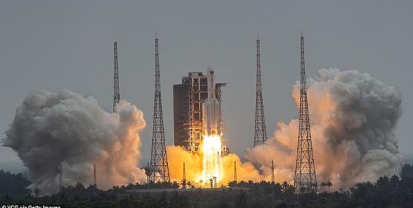 ماژول اصلی ایستگاه فضایی چین به مدار زمین رفت
