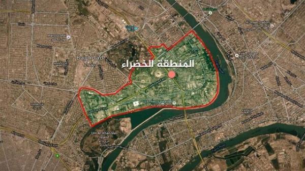 اعزام نیروهای ویژه ارتش عراق به منطقه سبز در پی تنش میان حشد شعبی و الکاظمی