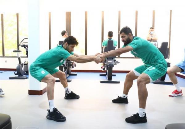 بازیکنان تیم ملی فوتبال ایران تست کرونا دادند