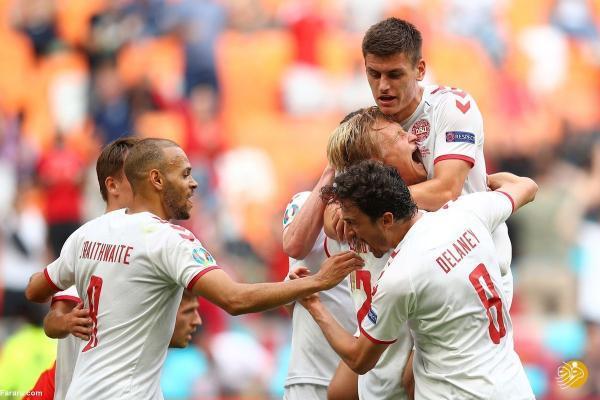 (ویدیو) خلاصه بازی ولز 0 - 4 دانمارک 5 تیر 00