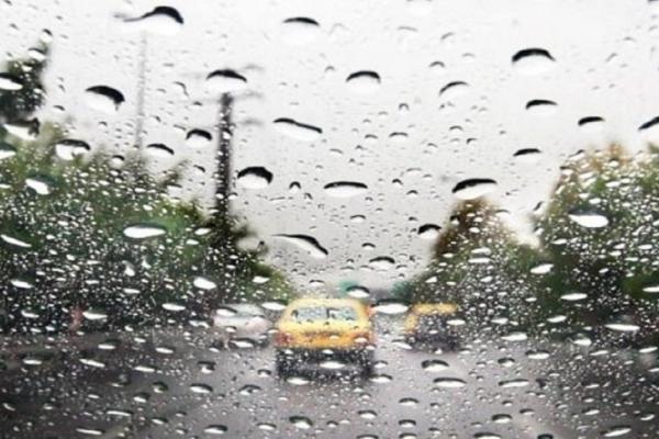 رگبار پراکنده باران در بعضی منطقه ها کشور